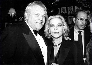 "Brian Dennehy and Lauren Bacall Opening Night - ""Waiting in the Wings"""
