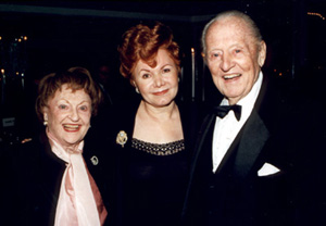 Lois Linkletter, Chase Mishkin and Art Linkletter